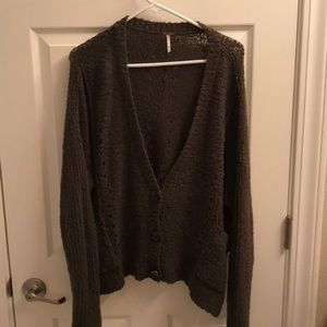Free People Sweaters - Free People Slouchy Cardigan